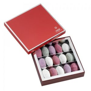 Coffret 15 Nougamandines Chef d'Oeuvre, chocolat WEISS