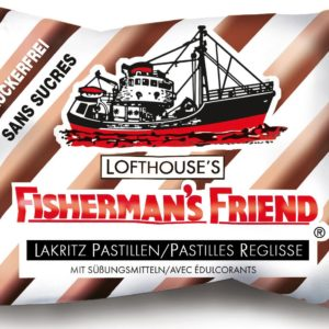 FISHERMAN'S FRIEND REGLISSE BOITE DE 24