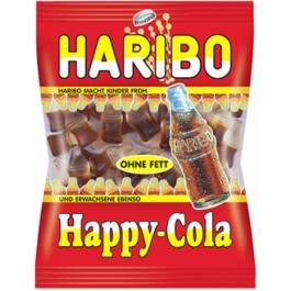 Happy cola HARIBO, 4 sachets de 120 gr