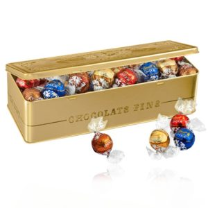 LINDOR, de lindt, coffret collection de 400gr