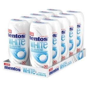 Mentos Gum always sweet mint, boite de 10