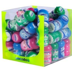 Mentos Gum NANO BOTTLE assortis, 45 boites