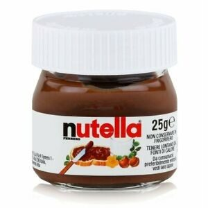 NUTELLA, mini pot de 25gr, sachet de 6