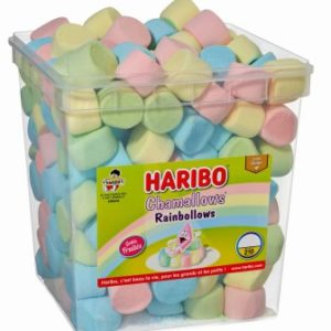 RAINBOLLOWS Chamallow HARIBO tubo de 210