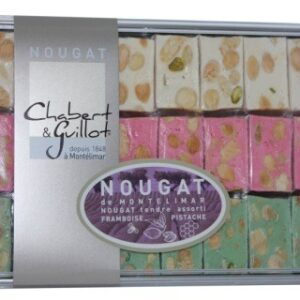Coffret de nougats tendres assortis, chabert et guillot, 250g