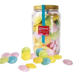 Soucoupes fruits, mini Tubo. de 140g